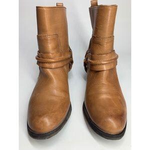 ANTONIO MELANI Shoes - {Antonio Melani}Leather Western Harness Moto Boots